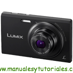Panasonic LUMIX FS50 Manual de usuario PDF español