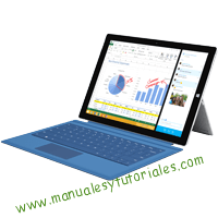 Microsoft Surface PRO 3 Manual de usuario PDF español