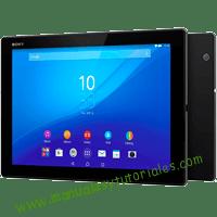 Sony Xperia Tablet Z4 Manual de usuario PDF español