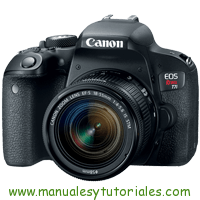 Canon EOS REBEL T7i Manual de Usuario PDF