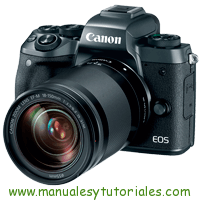 Canon EOS M5 Manual de Usuario en PDF español