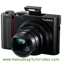 Panasonic Lumix TZ200 Manual de Usuario en PDF español