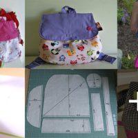 Aprende a hacer bolsos de tela para niños utilizando un patrón