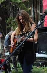 Merryll Loy (12) prepares for her performance as the second act in Ramstock. Photo by Julia Nguyen