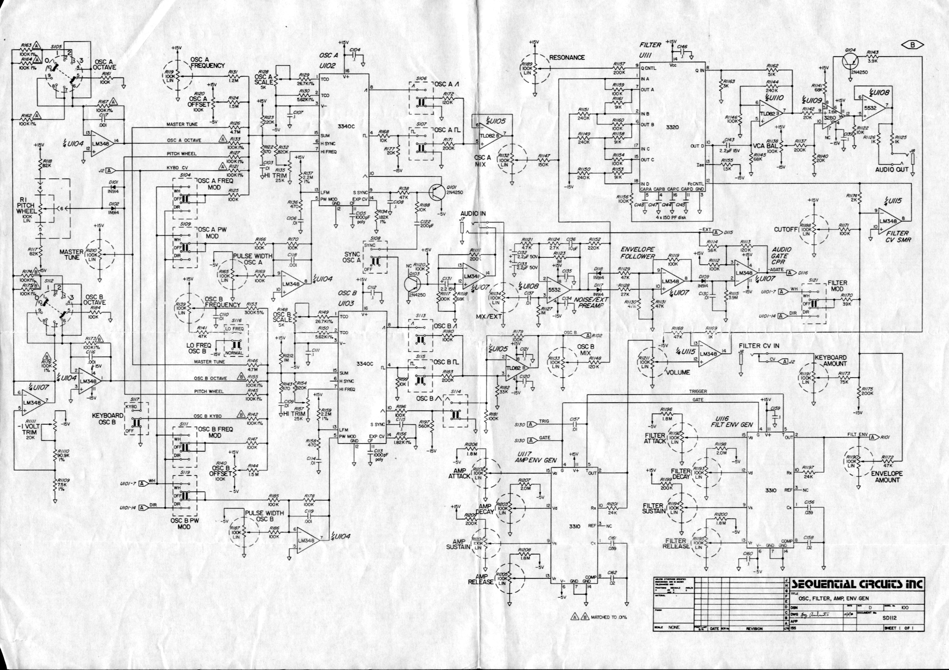 Sequential Circuits Prophet 10 Schematic Zip Sequential