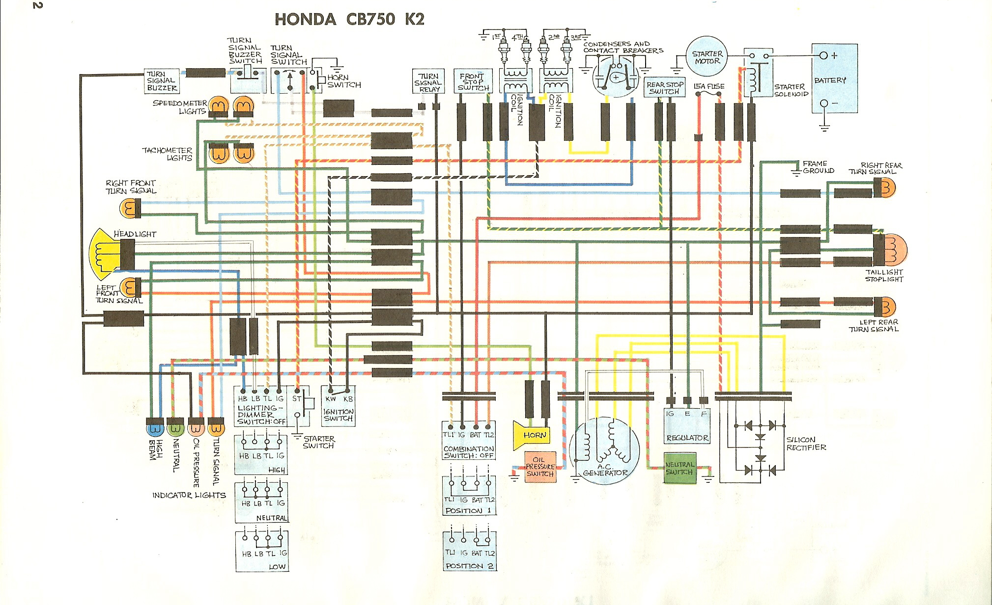 WD750K2 76 honda cb550 simplified wiring diagram honda wiring diagram 1974 cb360 wiring diagram at aneh.co