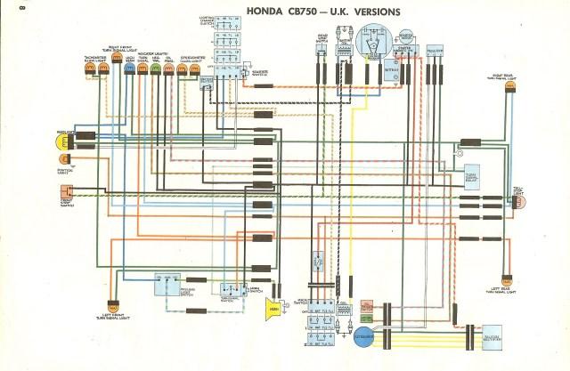 1978 honda cb750k wiring diagram hobbiesxstyle. Black Bedroom Furniture Sets. Home Design Ideas