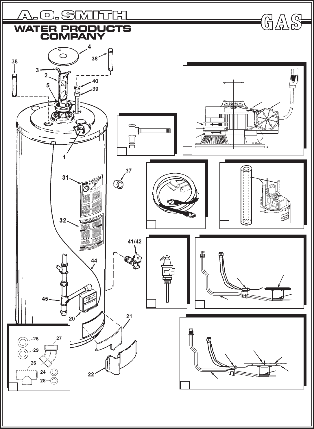 A O Smith Water Heater 101 Series Manual