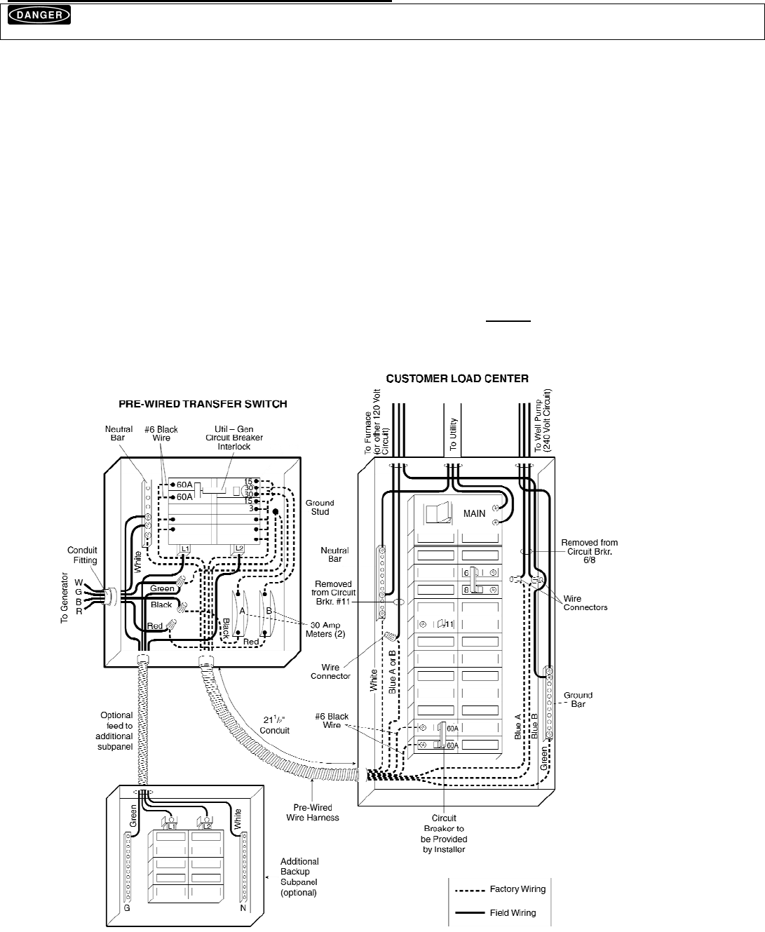 Generac Switch Manual Page 4 Of 13