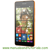 Microsoft Lumia 535 Manual and user guide in PDF