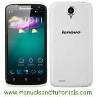 Lenovo S820 Manual And User Guide PDF