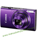 Canon IXUS 285 HS Manual And User Guide in PDF