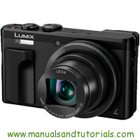 Panasonic Lumix TZ80 Manual And User Guide PDF