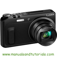 Panasonic Lumix TZ57 Manual And User Guide PDF