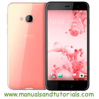 HTC U Ultra Manual And User Guide PDF