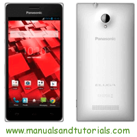 Panasonic Eluga I Manual And User Guide PDF