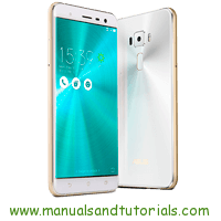 Asus ZenFone 3 Manual And User Guide PDF