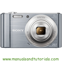 Sony DSC-W810 Manual And User Guide PDF