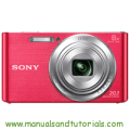 Sony DSC-W830 Manual And User Guide PDF
