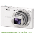 Sony DSC-WX350 Manual And User Guide PDF
