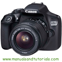 Canon EOS 1300D Manual And User Guide PDF