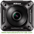 Nikon Keymission 360 Manual And User Guide PDF