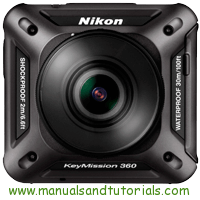 Nikon Keymission 360 Manual And User Guide PDF
