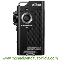Nikon Keymission 80 Manual And User Guide PDF