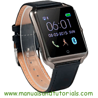 Bluboo Uwatch Manual And User Guide PDF