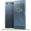Sony Xperia XZ1 Manual And User Guide PDF