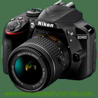 Nikon D3400 Manual And User Guide PDF