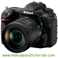 Nikon D500 Manual And User Guide PDF