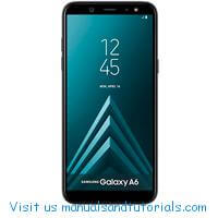 Samsung Galaxy A6 Manual And User Guide PDF