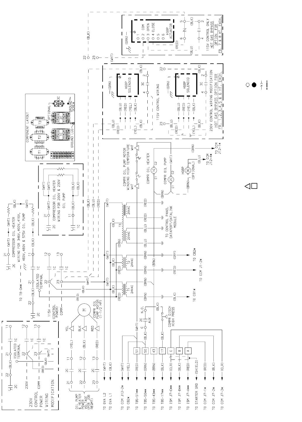 Carrier Chiller Diagram