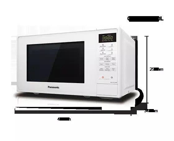 panasonic 1200w microwave instructions