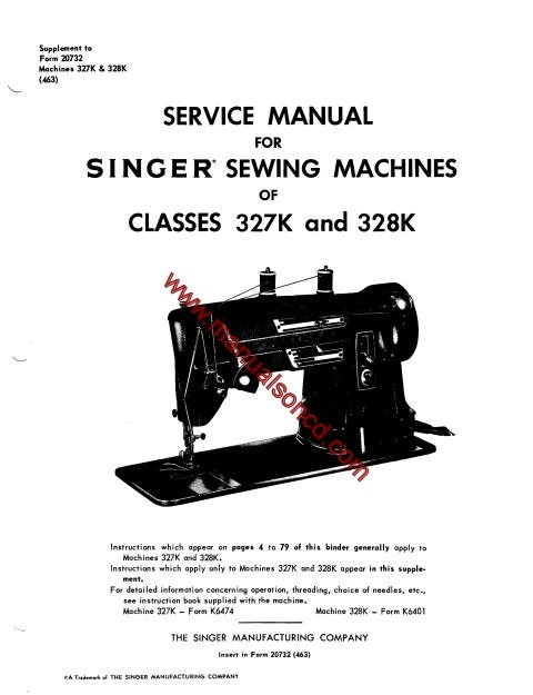Hook Manual 2517c Singer