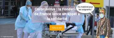 Fondation de France aide au soignants
