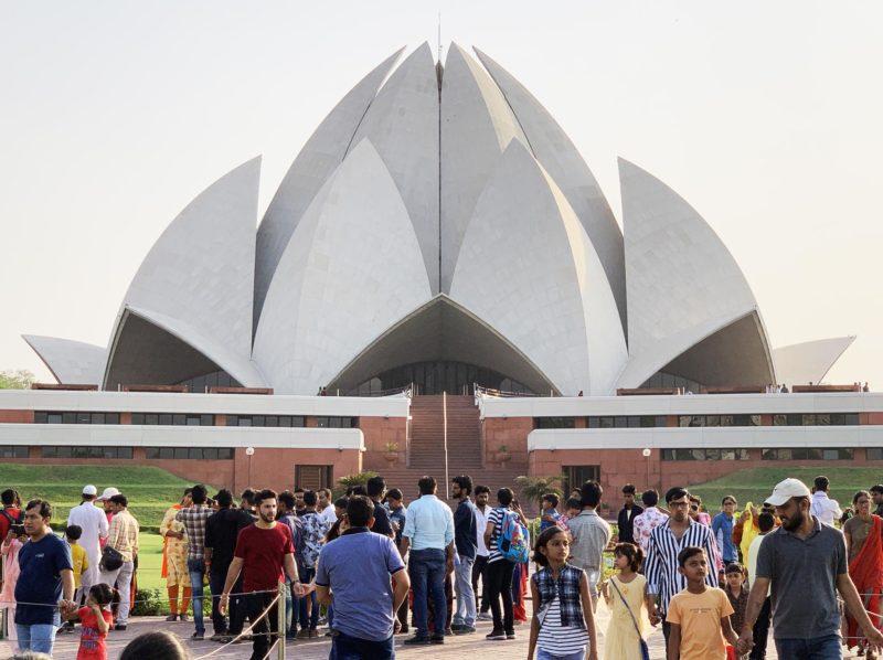 Le Lotus de Delhi : lieu pour unir toute l'humanité / toutes religions
