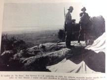 Soldados nacionales en Son Corb. Imagen del libro 'Historia de Mallorca ', de Mascaró Pasarius