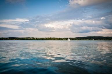 Starnberger See im Sommer