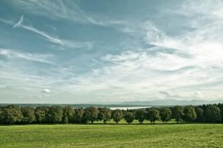 Landschaft Ilkahöhe Tutzing