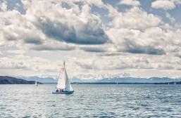 Segelboot am Starnberger See