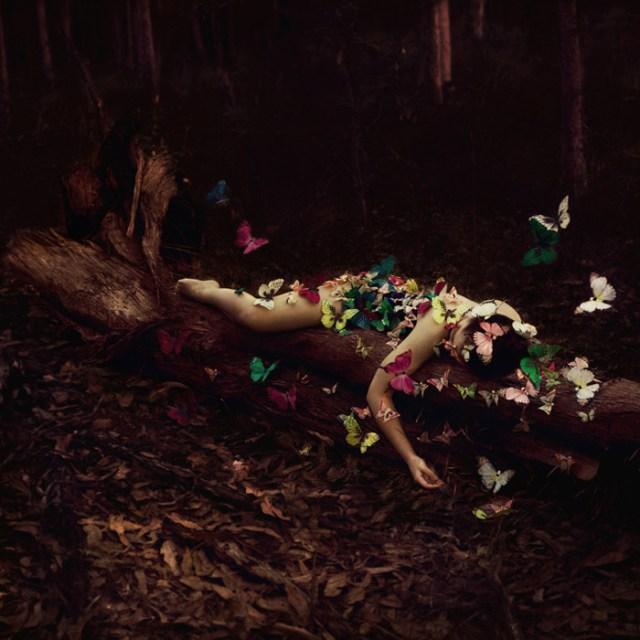 Selbstportrait von Ingrid Endel