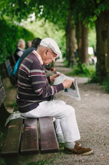 Streetfotografie Sommer am Starnberger See