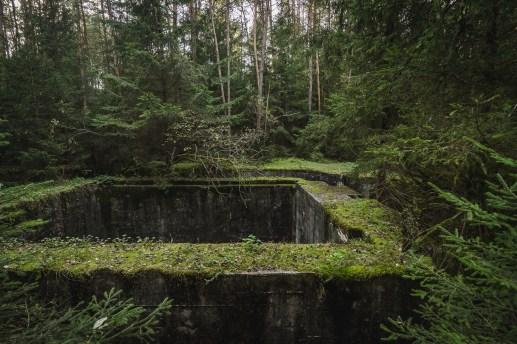 Rüstungsbunker-Ruine