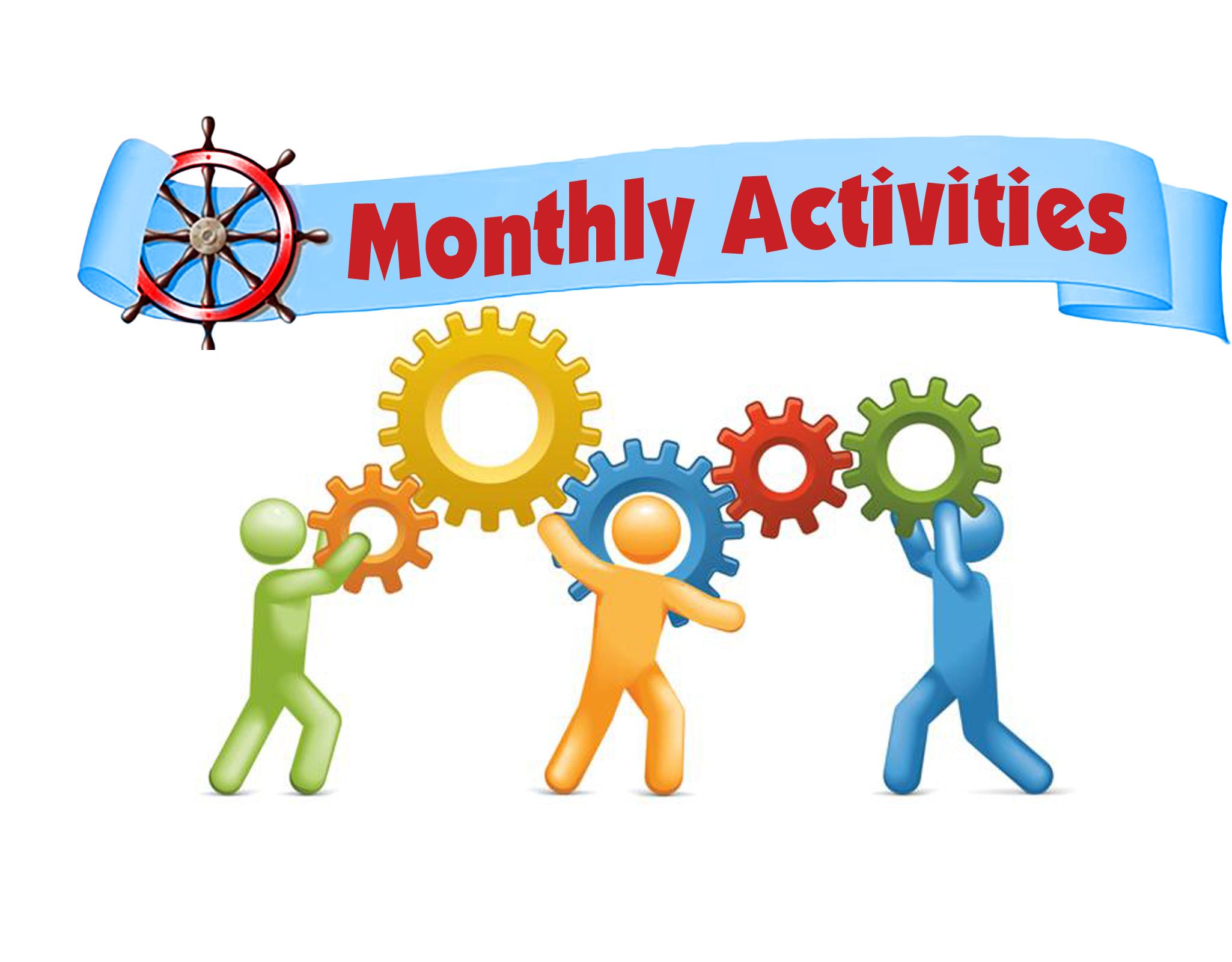 Monthly Announcements Clip Art