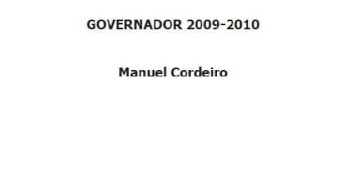 Distrito 1970 – Governador 2009-2010