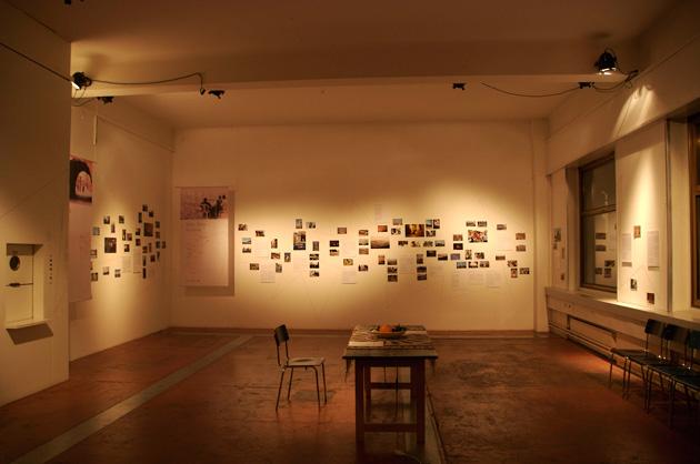 """Impression der Ausstellung """"les instants d'un voyageur"""""""