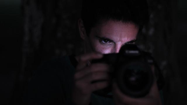Portrait-Fotografie Nachtaufnahmen auf dem Gurten, Titelbild