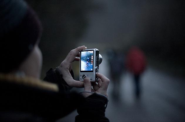 Ein Bild vom Bild – Aufnahme einer Kameravorschau